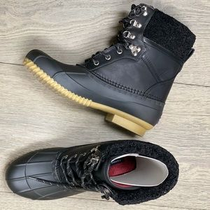 Tommy Hilfiger Womens Mid-Calf Cold Weather Boots